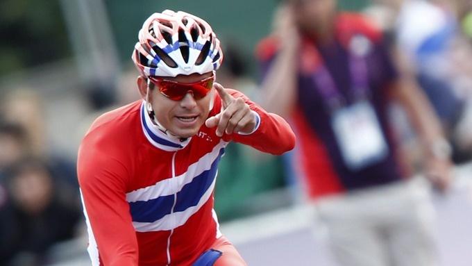 Alexander Kristoff - Bronze medal in the Olympics 2012 =)