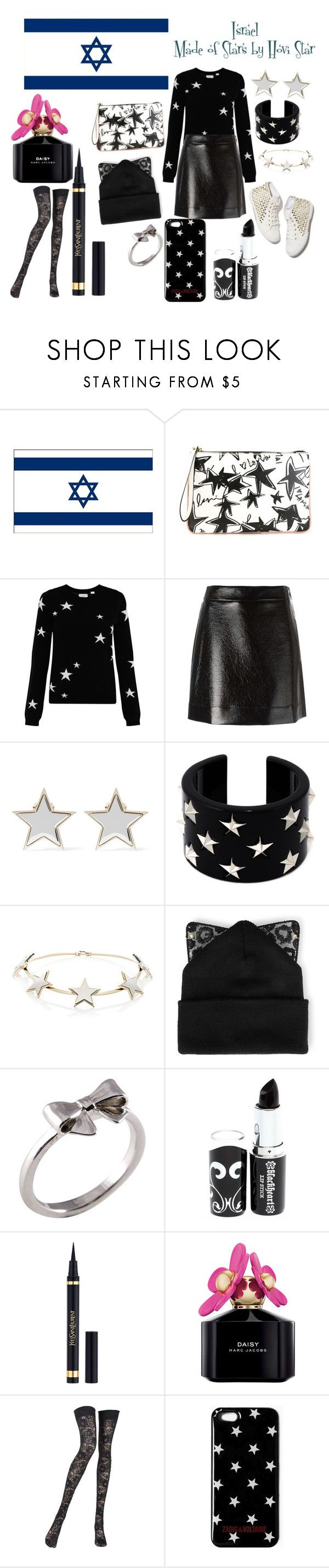 """Israel Eurovision 2016"" by grace-buerklin ❤ liked on Polyvore featuring Lanvin, Chinti and Parker, MICHAEL Michael Kors, Givenchy, RED Valentino, Silver Spoon Attire, Joy Everley, Yves Saint Laurent, Marc Jacobs and Pierre Mantoux"