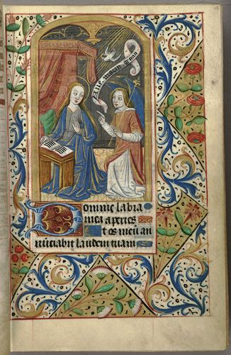 Hours of the Virgin. Book of Hours