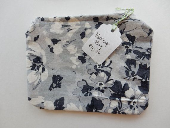 Check out this item in my Etsy shop https://www.etsy.com/listing/221033016/handmade-linen-zippered-make-up-bag
