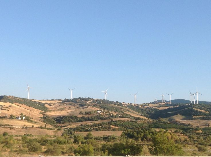 I giganti al vento... Basilicata coast to coast...