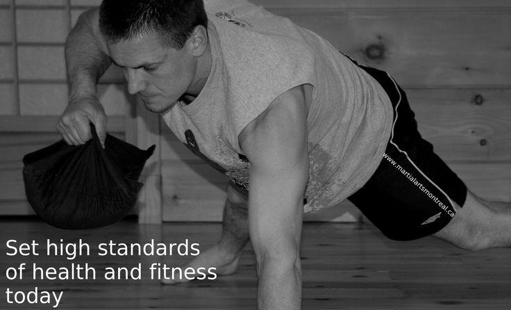 Push-ups training routines http://www.martialartsmontreal.ca