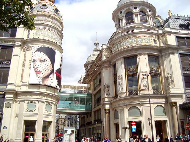 Magasin Au Printemps   by DolceDanielle, via Flickr