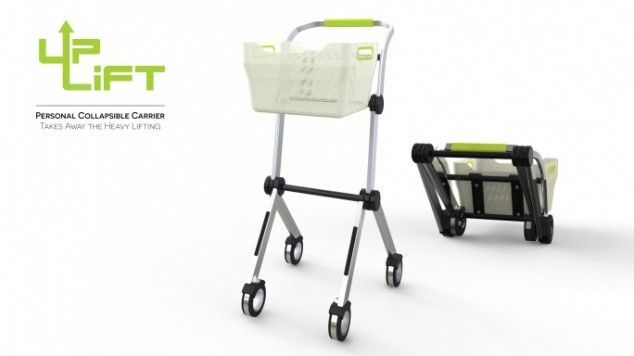 This Innovative Personal Utility Cart Gets Rid of Heavy Lifting #unique trendhunter.com