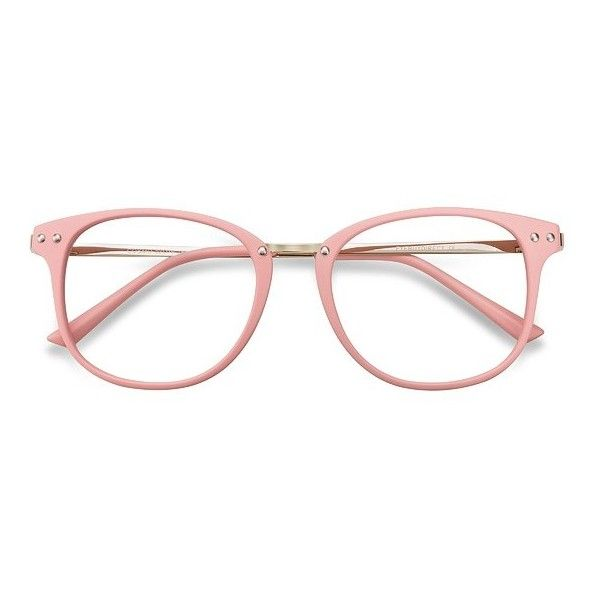 Women's Cosmo - Pink square metal plastic - 19045 Metal Rx Eyeglasses ($29) ❤ liked on Polyvore featuring accessories, eyewear, eyeglasses, pink glasses, pink eyeglasses, plastic eyeglasses, square glasses and pink eye glasses