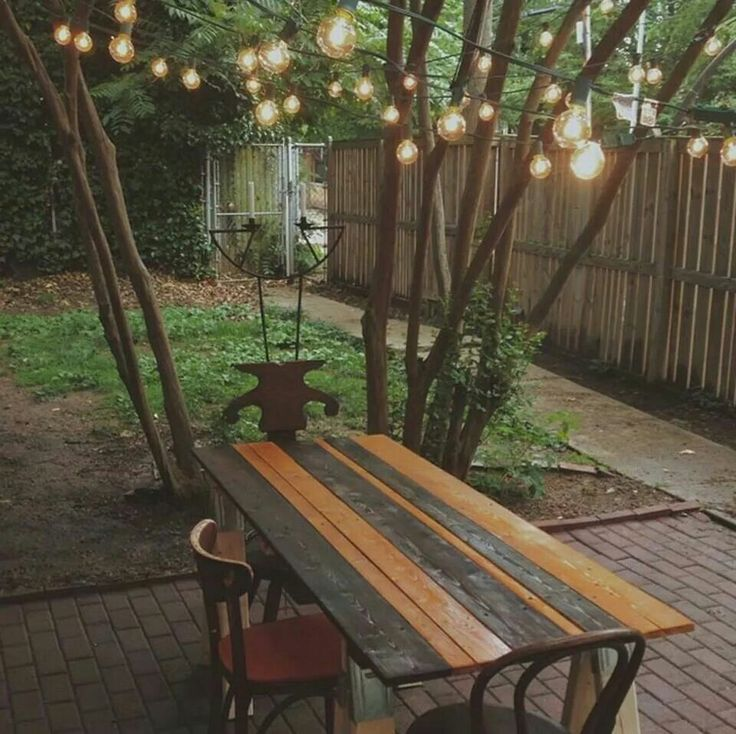 Great way to fix up your back yard