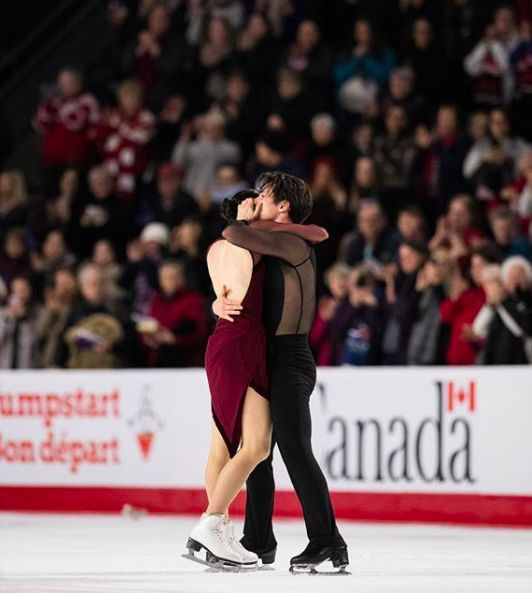 Tessa Virtue and Scott Moir - Canadian Nationals 2018
