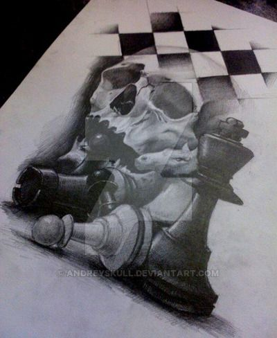 chess by AndreySkull.deviantart.com on @DeviantArt