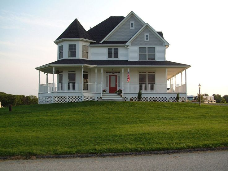 Fabulous Wrap-Around Porch - 6908AM | Country, Farmhouse, Victorian, Photo Gallery, 2nd Floor Master Suite, CAD Available, Den-Office-Library-Study, PDF, Wrap Around Porch, Corner Lot | Architectural Designs