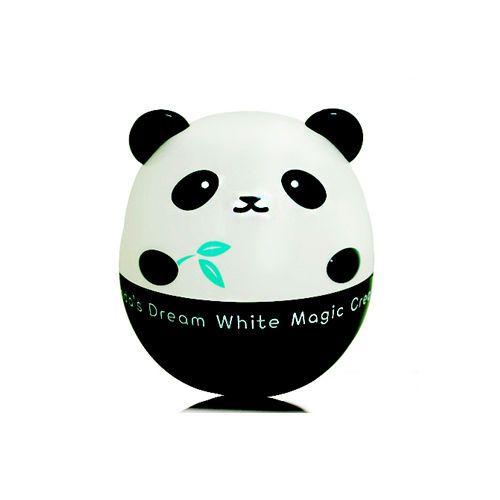 Panda's Dream White Magic Cream - 50g,TONY MOLY.  Crema aclarante facial de uso diario, se aplica por la mañana antes del maquillaje.  Contiene extractos de sabia y bambú, que ayudan a relajar y calmar la piel sensible.  Recomendado para todo tipo de piel.