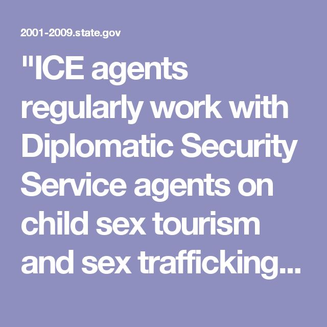"""""""ICE agents regularly work with Diplomatic Security Service agents on child sex tourism and sex trafficking investigations in countries like Cambodia and Thailand, and they've proven to be a valuable ally,"""" said Assistant Secretary Michael J. Garcia of the U.S. Department of Homeland Security Immigration and Customs Enforcement. """"Investigating these types of horrific crimes, where you have people crossing borders and sexually exploiting women and children, is a complex undertaking that…"""