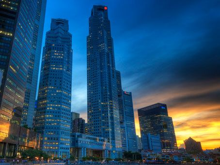 Serviced office space for rent Raffles Place, Singapore