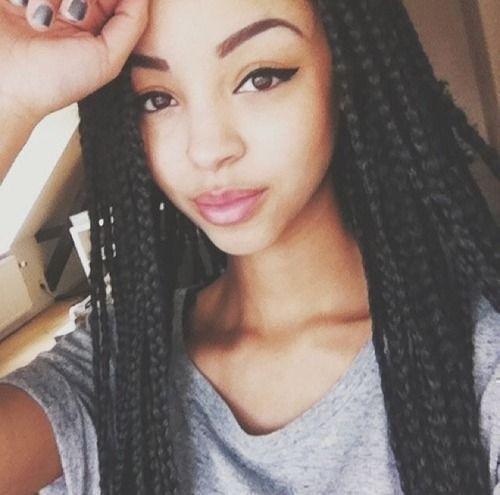 #Braid Hairstyles - Grow Long Hair & Regrow Thinning Bald Spots... CLICK LINK ----> http://www.dawnali.com/long-real-black-hair-natural-and-relaxed-super-growth-oils/ - Dawn Ali #dawnali - 30 Best Black Braided Hairstyles That Turn Heads #blackhairstylesrelaxed #blackhairstylesnatural #braidedhairstyles