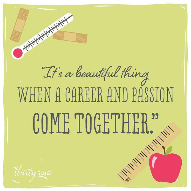 We're thankful for loving teachers and nurses.