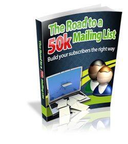 Get Your Copy of The Road to a 50k Mailing List and Boost Your Income! http://jvz5.com/c/5346/34261