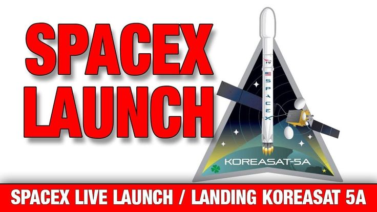 SpaceX landing & launch - KOREASAT-5A Webast / SpaceX launch & landing