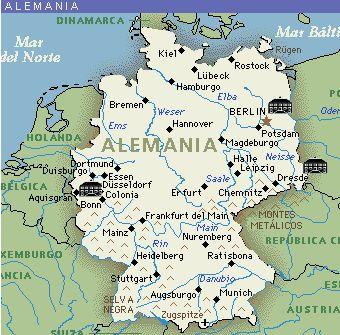 República Federal de Alemania Capital Berlín 80.219.697 habitantes (2011) Idioma Alemán Moneda Euro (EUR)
