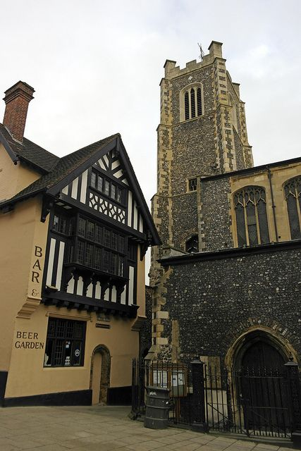 Norwich, Pottergate, Monks UK