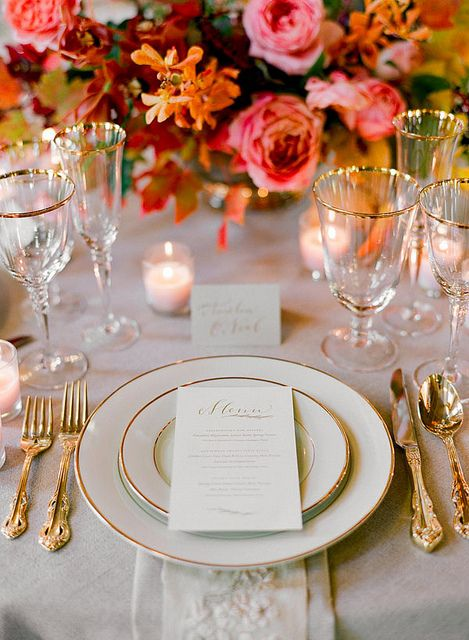 Place Setting Glam
