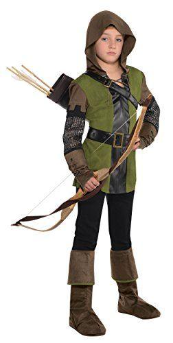 König der Diebe Robin Hood Kostüm Kinder Jungen Amscan, Karneval, Fasching