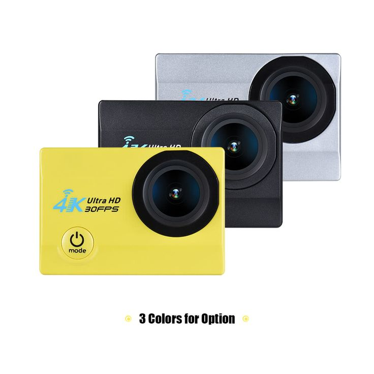 """2"""" LCD Screen V3 4K 16MP FHD WiFi Action Sports Sales Online black - Tomtop.com"""