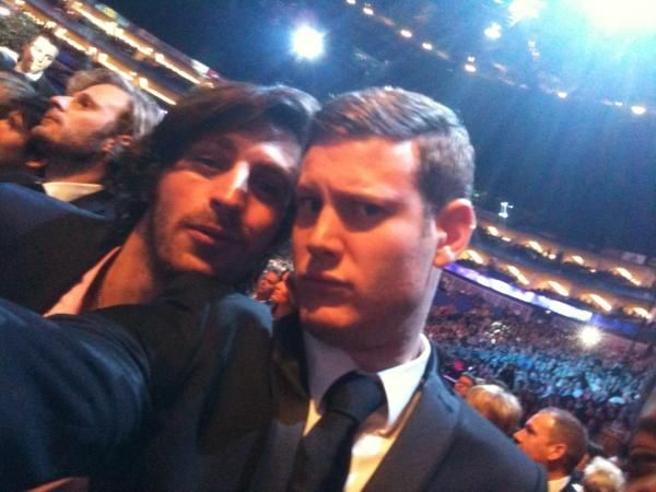 Sir Percival and Sir Gwaine!! With Merlin and Sir Leon to their right :)