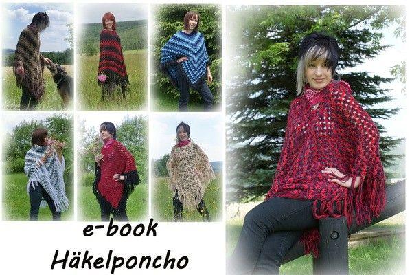 Ponchos sind total in und angenehm kuschelig. Häkle Dir jetzt Deinen eigenen Poncho in Deinen Wunschfarben. Probiers gleich aus mit der Häkelnadel.