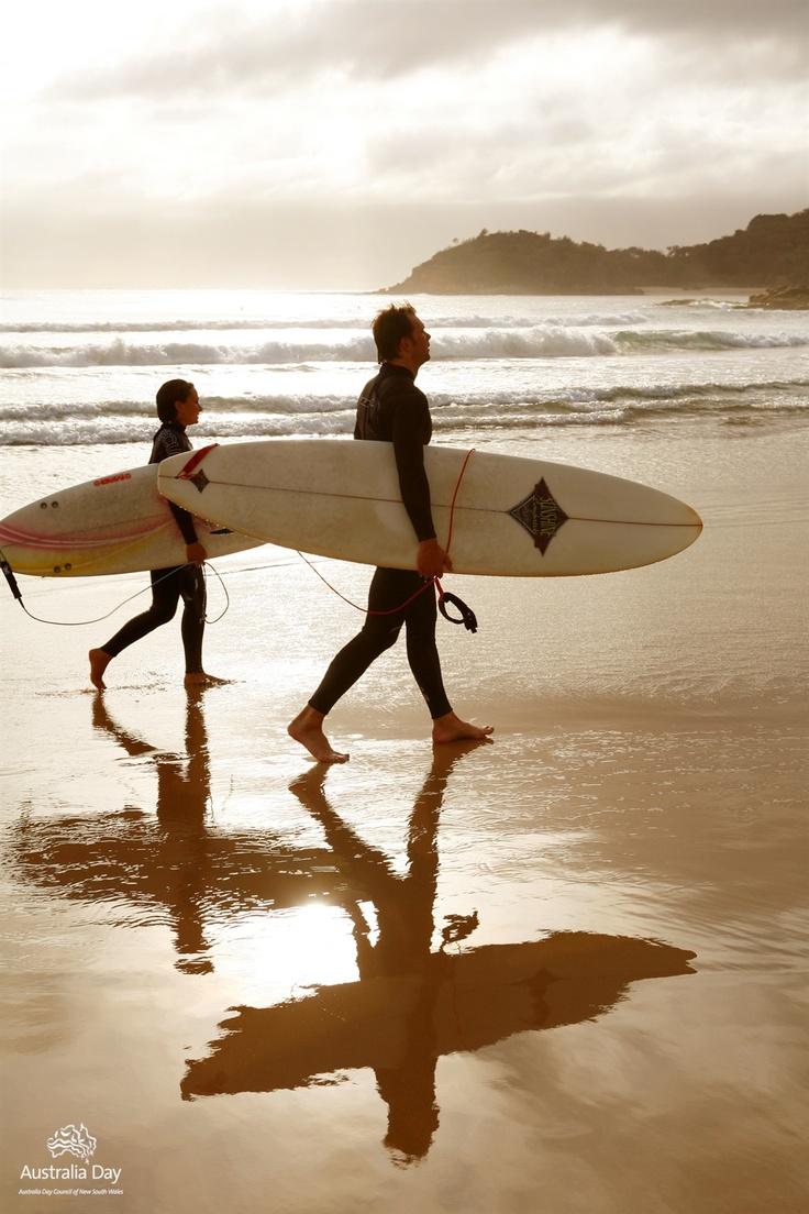 morning surf, Manly Beach (Sydney)