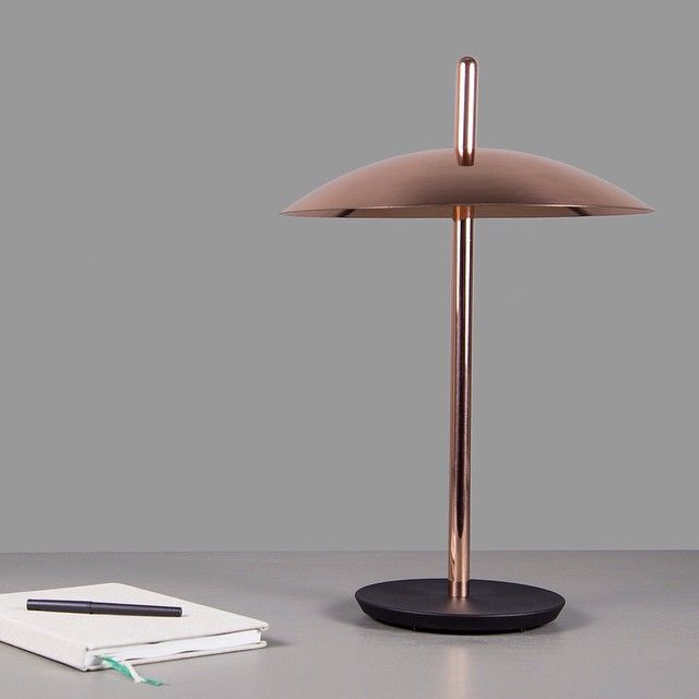 We present to you, Amy: a mid-century modern table lamp with a jazzy vibe.  Amy by DelightFULL is a mid-century modern table lamp that could