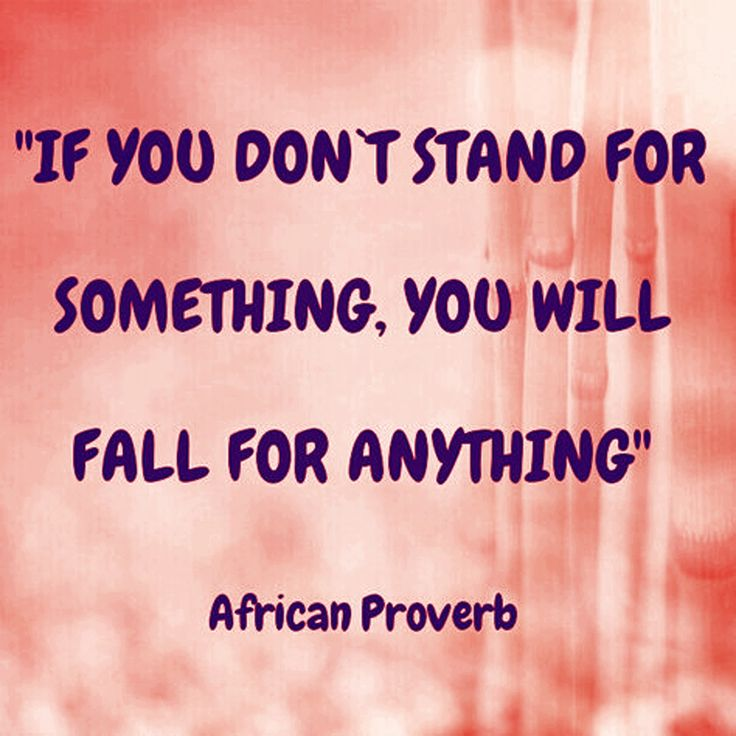 Stand For Something Or Fall For Anything Quote Daily Inspiration