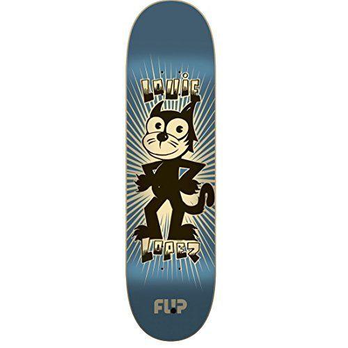 Flip Skateboards Lopez Weirdo Series Pro 32.31″-8.25″ Flip Decks: Made with 100% Maple Medium concave 32.31 in 8.25 in