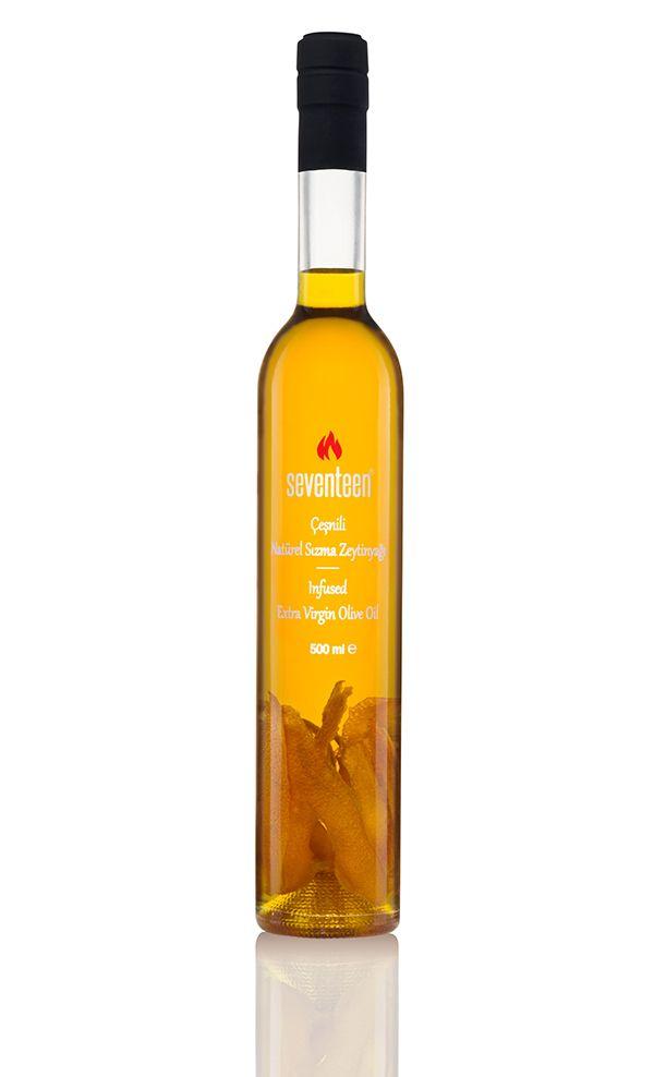 Seventeen - Portakal çeşnili natürel sızma zeytinyağı - 500 ml
