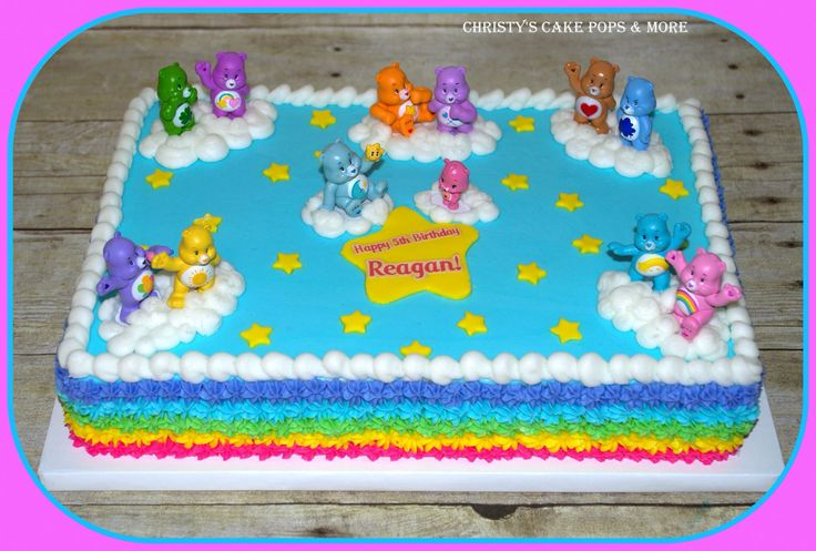 Care Bear Cake by Christy's Cake Pops & More - Easley, SC