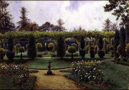 Grey Day de Ernest Arthur Rowe (1863-1922, United Kingdom)