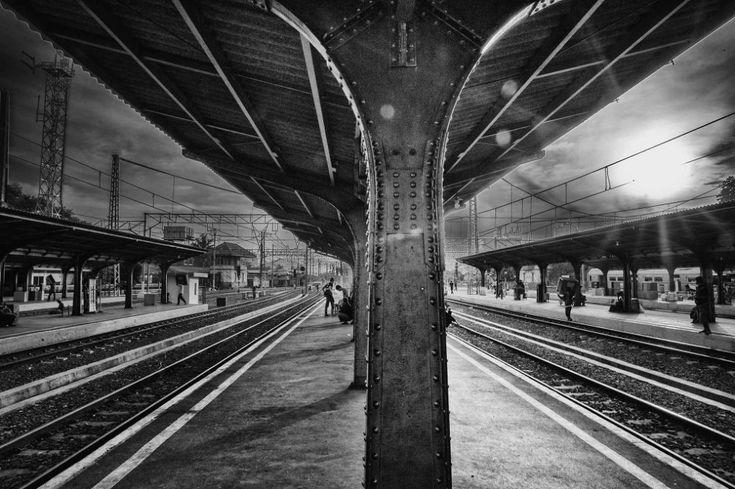 Stasiun Kota Jakarta by gocreates