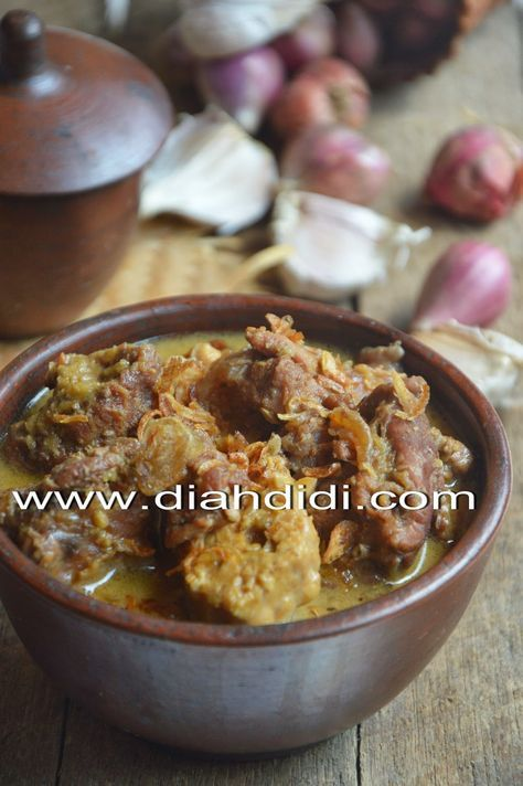 Diah Didi's Kitchen: Terik Daging & Tempe