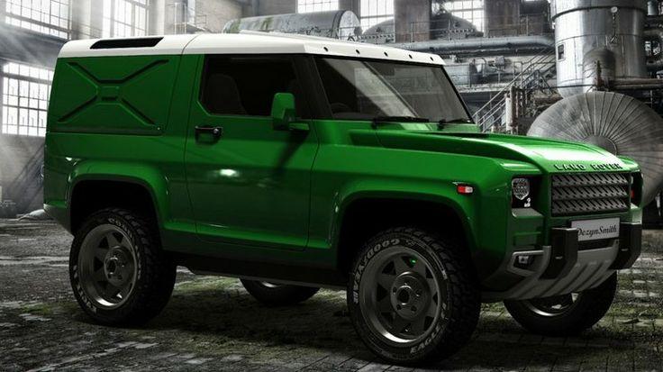 New Land Rover Defender 2019 >> Concept LR Defender Utility | Land Rover Concept | Pinterest | Land rovers, 4x4 and Land rover ...