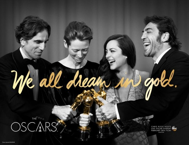 Oscars 2016 I The Academy I We all dream in gold