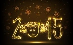 New Year Funny Face HD Wallpaper