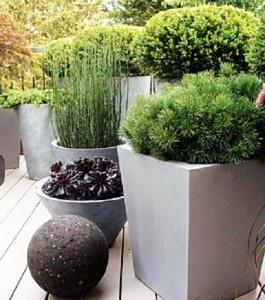 Μοντέρνες γλάστρες για τους εξωτερικούς χώρους | Small Things
