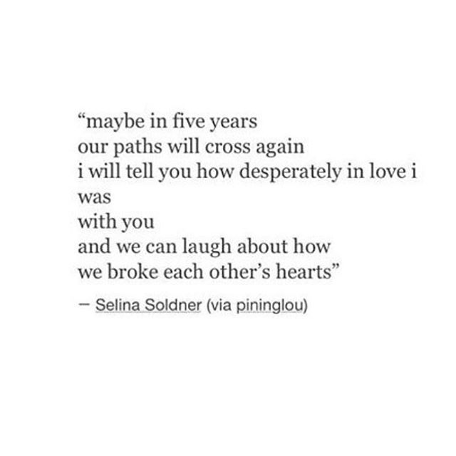 when we meet each other again