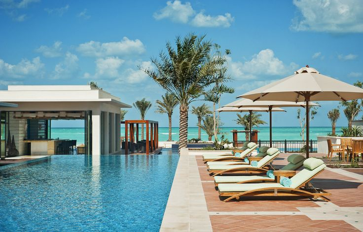 The St. Regis Saadiyat Island Resort, Abu Dhabi—Lap Pool | Flickr - Photo Sharing!