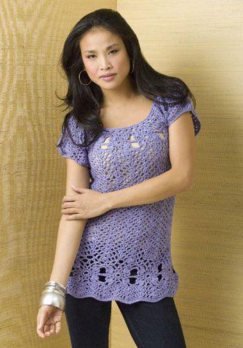 #FREE PATTERN: Edgewater Tunic on naturallycaron.com  Crochet Jacket #2dayslook #CrochetfashionJacket  www.2dayslook.com