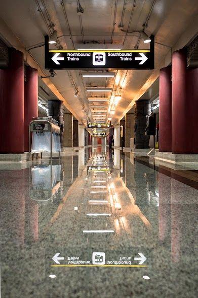 Toronto Subway.