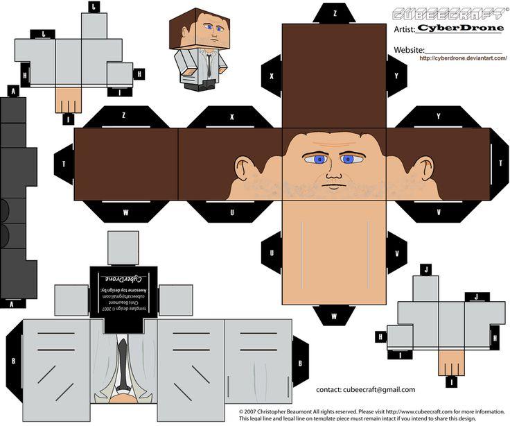 Cubee Castiel By Cyberdrone Deviantart Com On