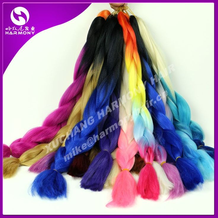 Hot selling Ombre braiding hair, More color optionals