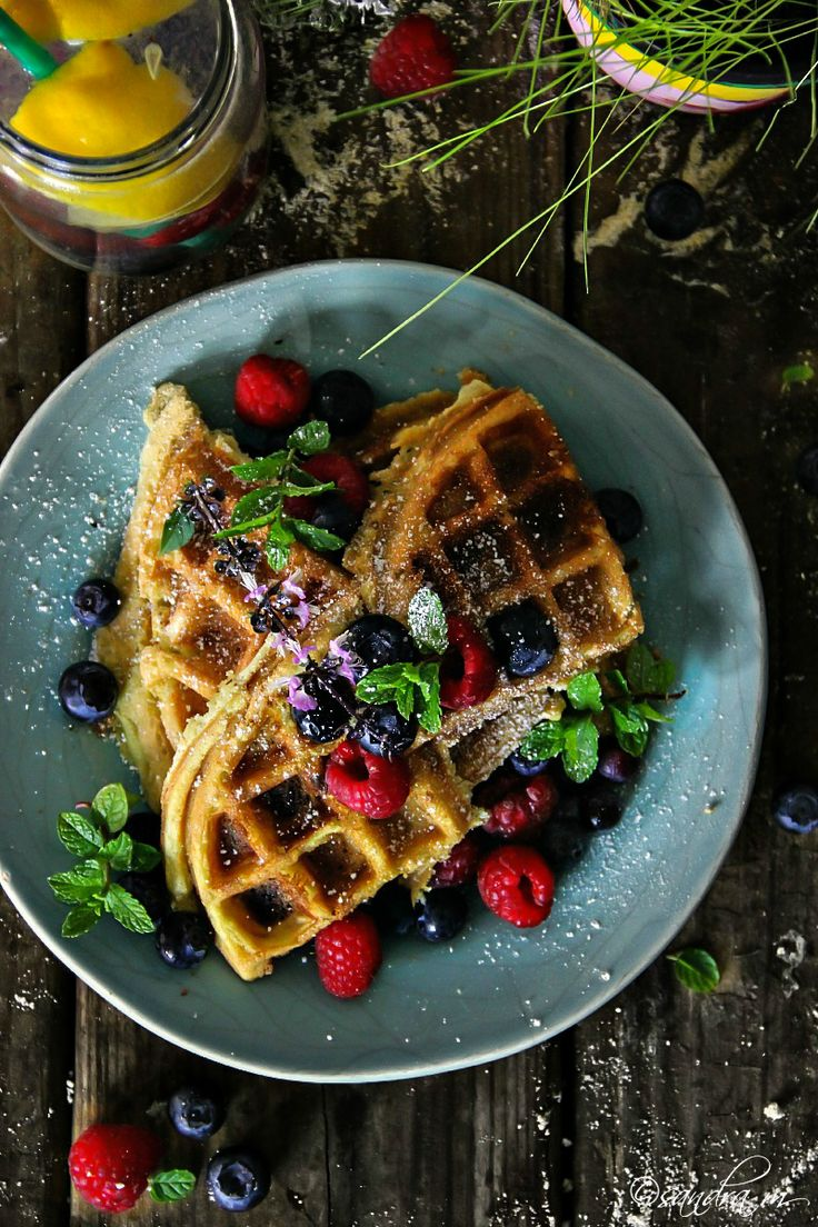 Belgian Waffles with Coconut Flour, THM Friendly if you switch out the sugar for approved stevia or truvia, etc.