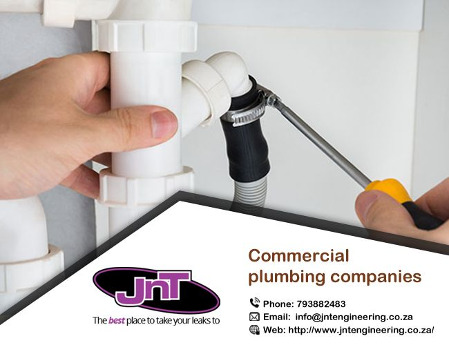 Commercial #Plumbing Companies – One Stop Destination for High-End Commercial Projects @JNT has a committed group of reliable and professional plumbers. http://bit.ly/2iH0Vqs