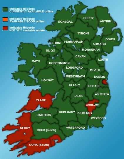 Irish roots? Birth Death Marriage #Genealogy Records Ireland - Irish Family History Foundation