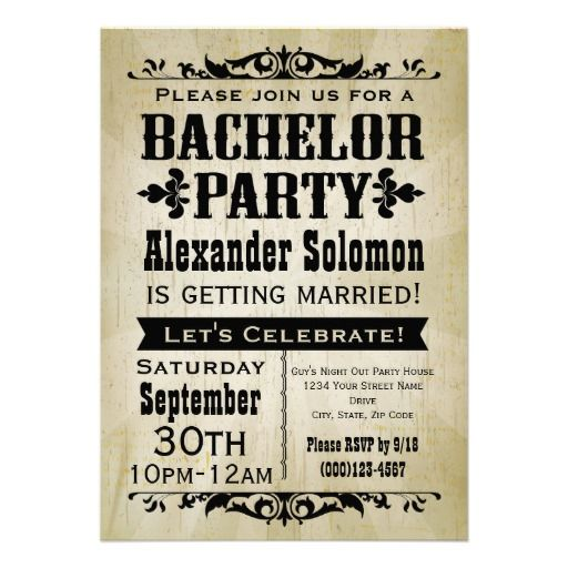 Best 25 Bachelor Party Invitations Ideas On Pinterest Bachelor